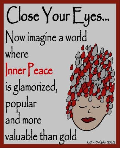 inner peace glamorized