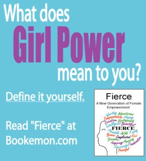 What does girl power mean to you? Define it yourself. You can read this and more books at Bookemon.com