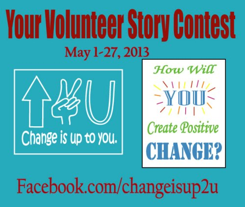 2013 contests, win prizes in 2013, volunteer opportunties 2013