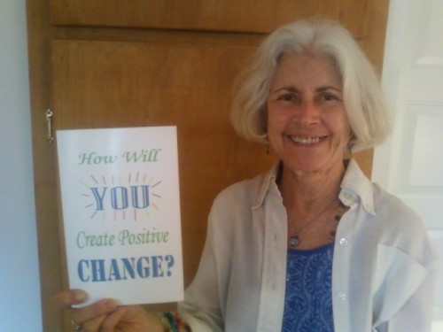 How Will You Create Positive Change. books by Leah Oviedo, free book marketing