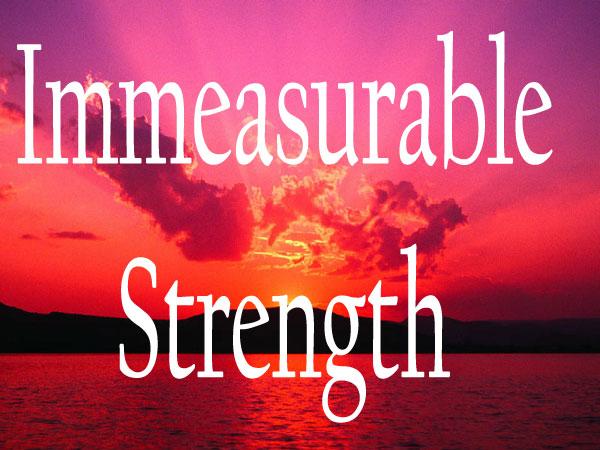Immeasurable.Strength.Sunse