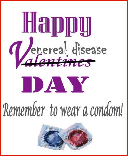 sexual protection, condoms, venereal diseases poster