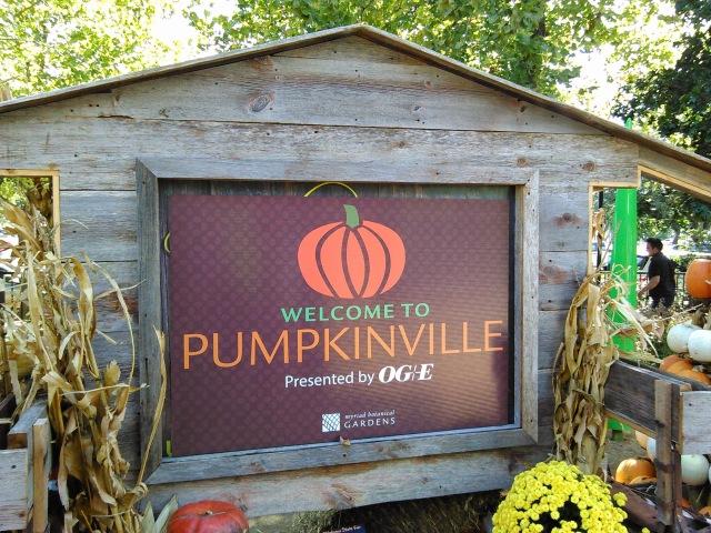 Pumkinville at Myriad Botanical Gardens