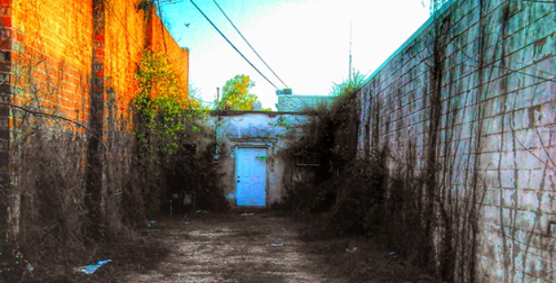 empty alley