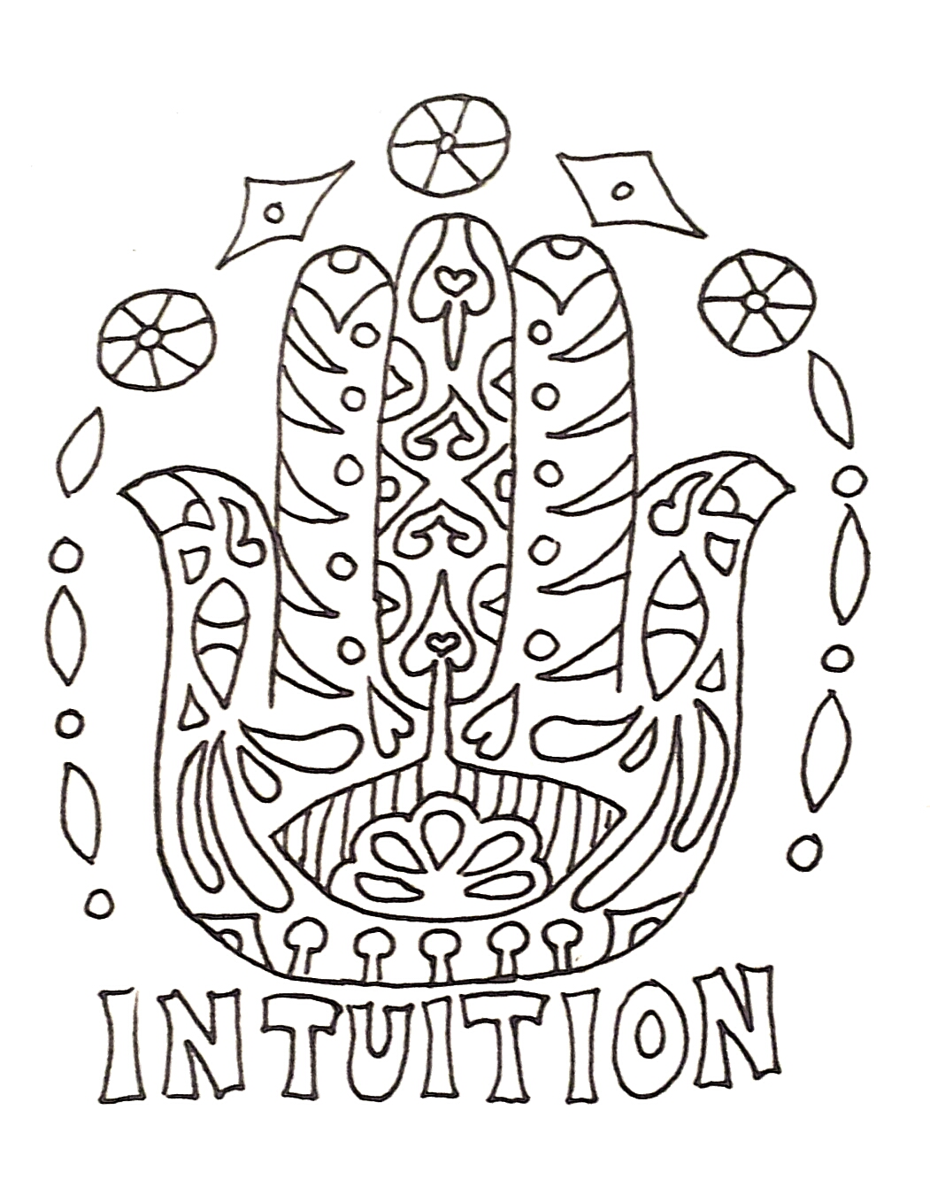 Affirmation Coloring Pages Sketch Coloring Page