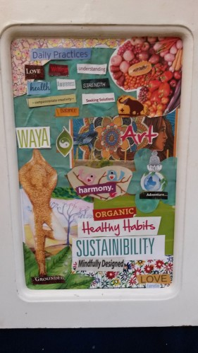 Summer intention board by Leah Oviedo